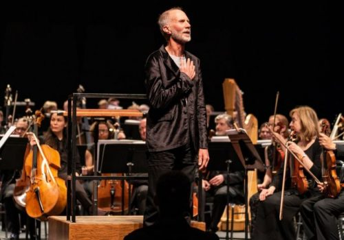 John Luther Adams with the Seattle Symphony